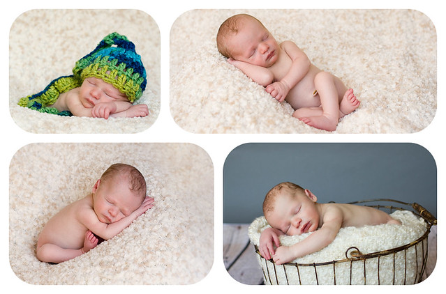 Ty newborn collage
