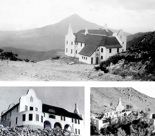 "The ""Spookhuis"" (Ghost House) of Bainskloof."