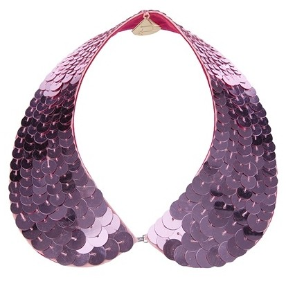 GEMMA LISTER sequined collar