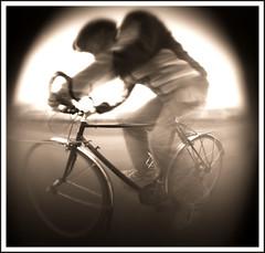 The Claustrophobic cyclist