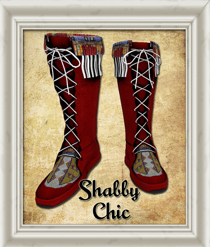 Shabby Chic Native Red Moccasin by Shabby Chics
