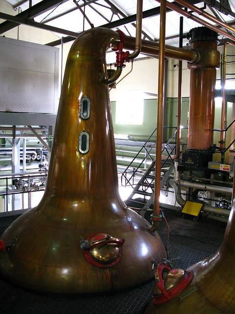 Cardhu distillery - wash still