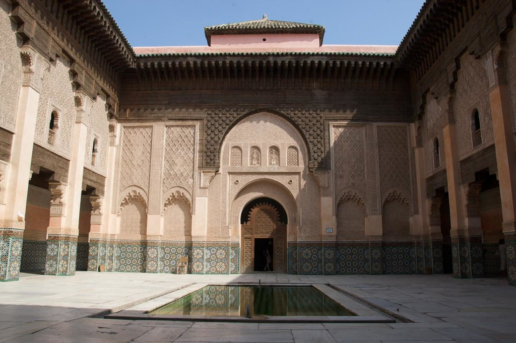 Ben Youssef Madrassa in Marrakech