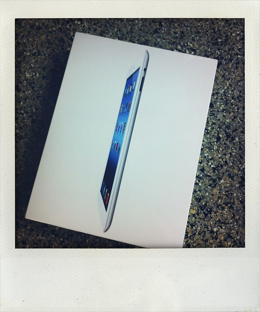 My new iPad