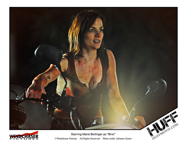 Marie Bollinger, HUFFMOVIE SELECTED FOR SCREENING AT TEXAS FRIGHTMARE WEEKEND