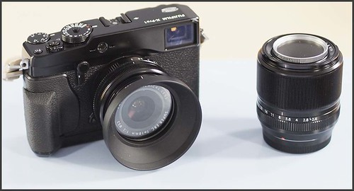 Fuji X-Pro 1 18mm f/2 lens 60mm f/2.4 lens