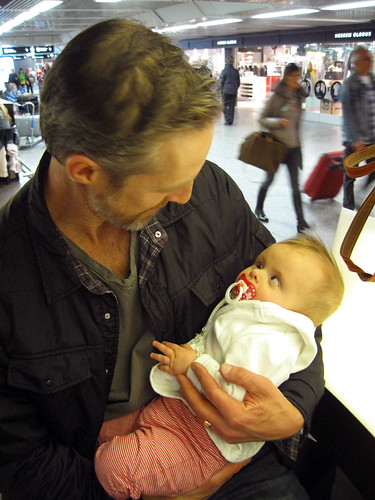 unclejoe: 1st meeting @ the airport