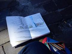sketchcrawl in rådhusparken