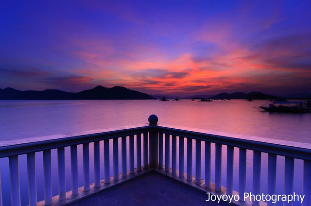 日落 科隆鎮 Sunset in Coron, Palawan Philippines