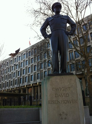 Dwight D Eisenhower - U.S. Embassy London by despod