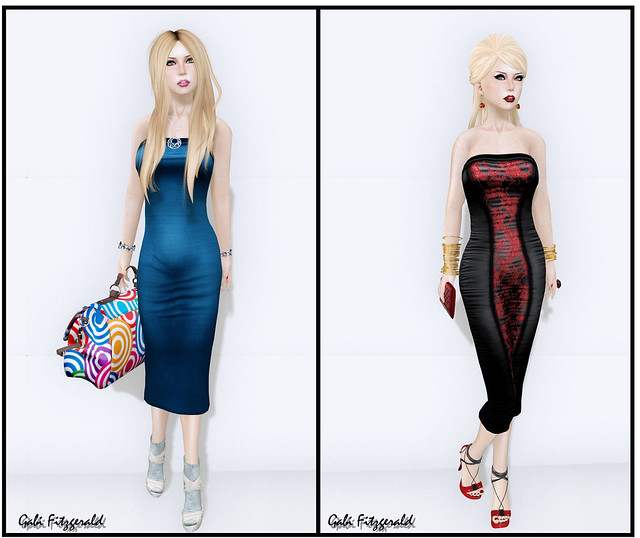 boom new mesh dress