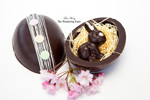 Hand Crafted Large Chocolate Egg