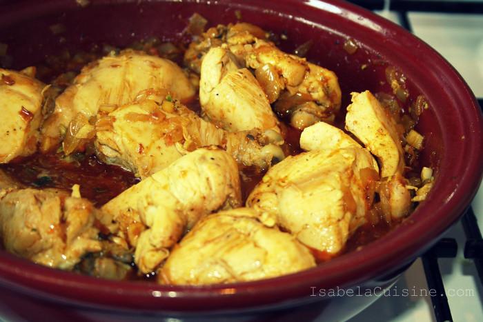 Moroccan Chicken Tajine