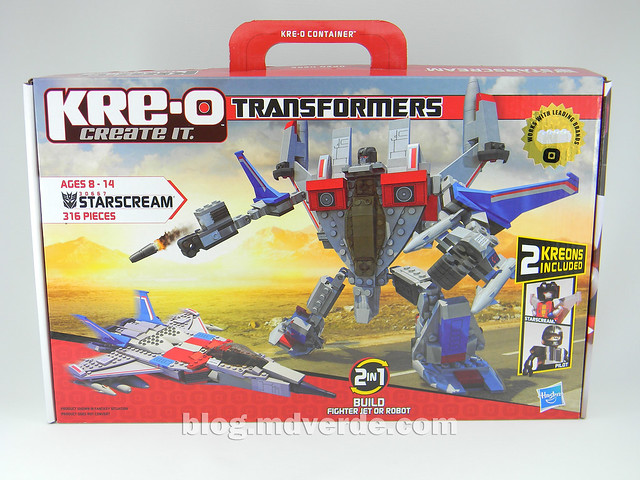 Transformers Starscream - Kre-O - caja