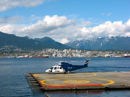 Helijet in Vancouver