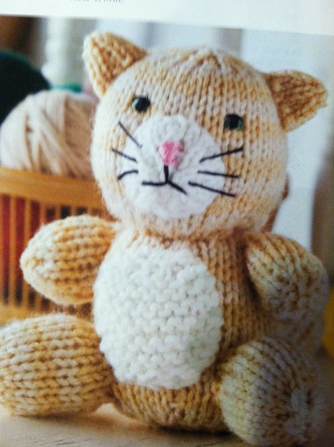 Amigurumi Animal Friends Knit Cat Flickr - Photo Sharing!