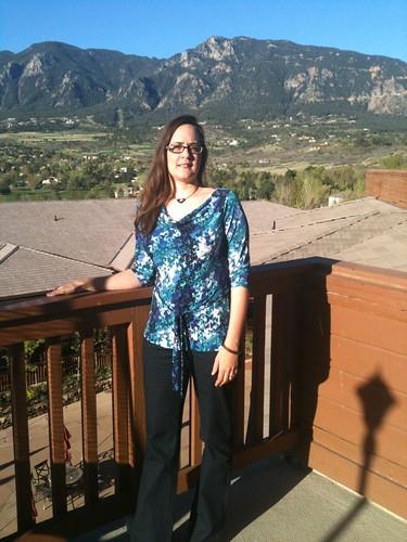 At Cheyenne mountain resort