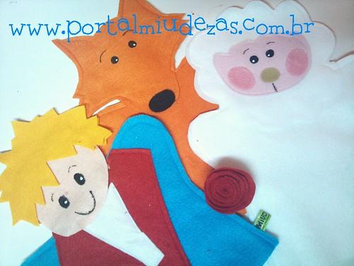 Kit Fantoches Pequeno Príncipe by miudezas_miudezas