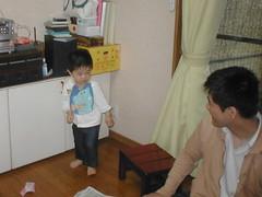実家についたとらちゃん(2012/5/3)