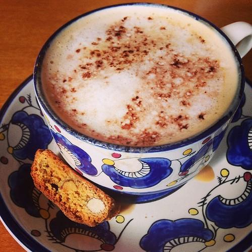 Olive Garden cappuccino. Surprisingly very good.  #latergram