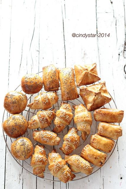 pīrāgi-bacon buns-bocconcini alla pancetta