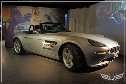 The Establishing Shot BOND IN MOTION - BMW Z8 FROM THE WORLD IS NOT ENOUGH @ LONDON FILM MUSEUM COVENT GARDEN by Craig Grobler
