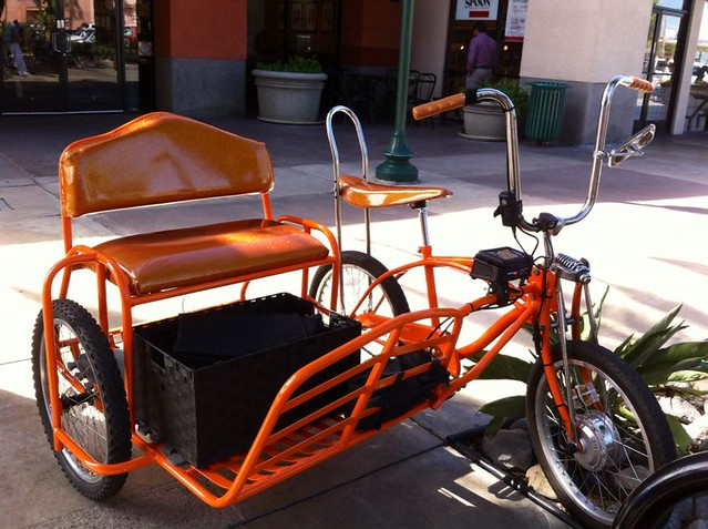 bicycle sidecar on bikecommuters.com