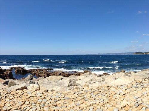 白浜温泉「崎の湯」 の隣からの眺め