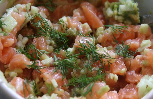 Tartar de Salmon (9)