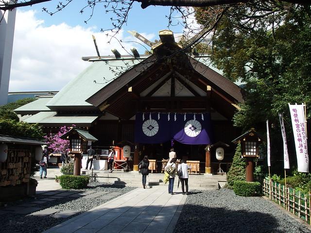 Tokyo Daijingu Shrine @ Iidabashi