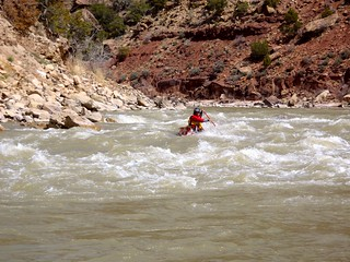 Chandler Rapid - Green River - Desolation Canyon , Utah