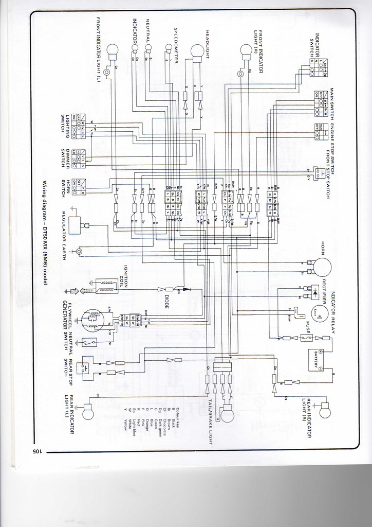 yamaha dt50 wiring diagram chris wheal flickr ptc wiring diagram yamaha dt50 wiring diagram by whealie