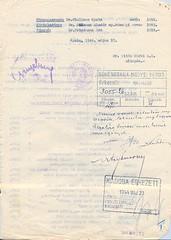 IV/2.b. Azon vármegyei orvosok összeírása, akiket meghagynak eddigi szolgálati helyükön és az alispán reakciója.