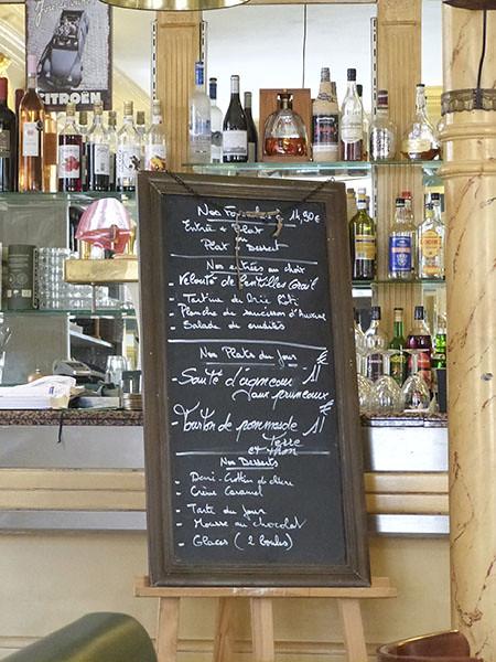 menu graguignan