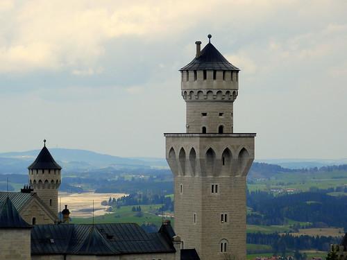 Tower in Neuschwanstein (Germany)