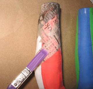 18 start paper mache