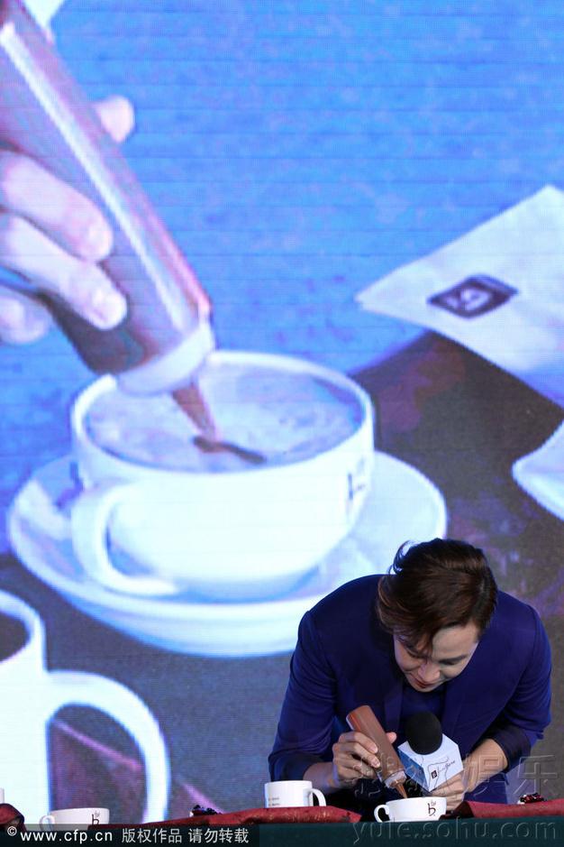 [Pics] Jang Keun Suk Calls For More Charity Work and Be Eco-Friendly At Caffe Bene FM_20140426 14054915051_3d184a673b_o