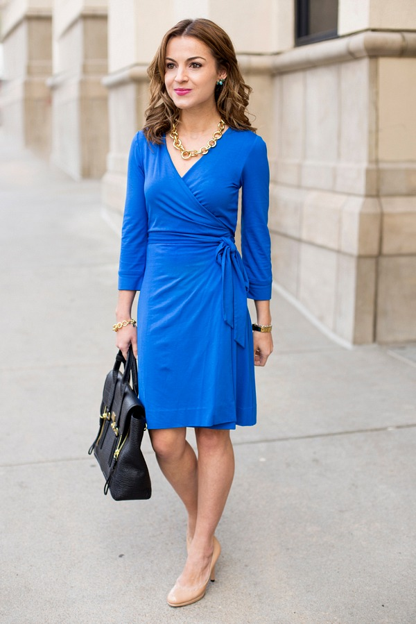 DVF Wrap Dress Petite