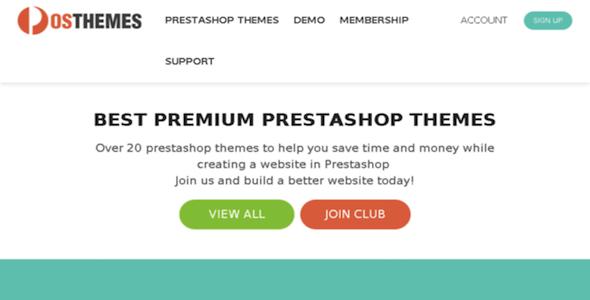 7 PosThemes Prestashop Theme Pack