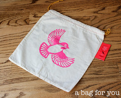 $1 Facebook Fan Giveaway!  Enter here to win a Pretty Cheep Project Bag