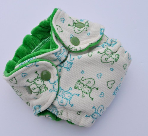 Bumstoppers Newborn Silly Monkey Fitted