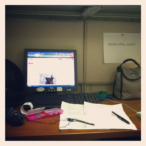 "#febphotoaday Feb 22 ""where you work"""