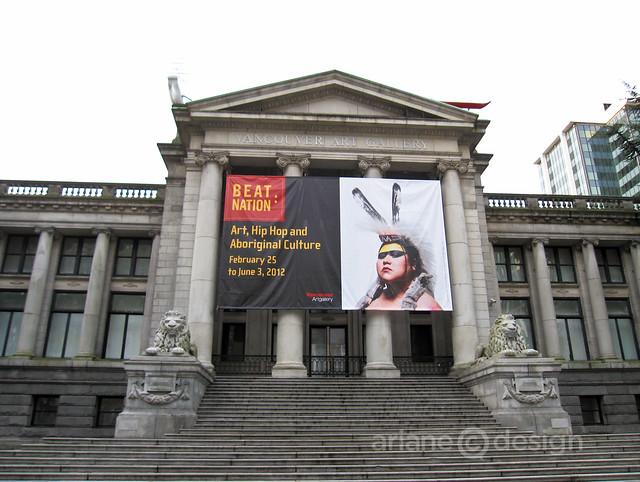 Vancouver Art Gallery: Beat Nation | Vancouverscape