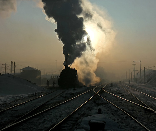 china snow heilongjiang industrial railway steam locomotive coal province sy 0950 jixi didao gordonedgar