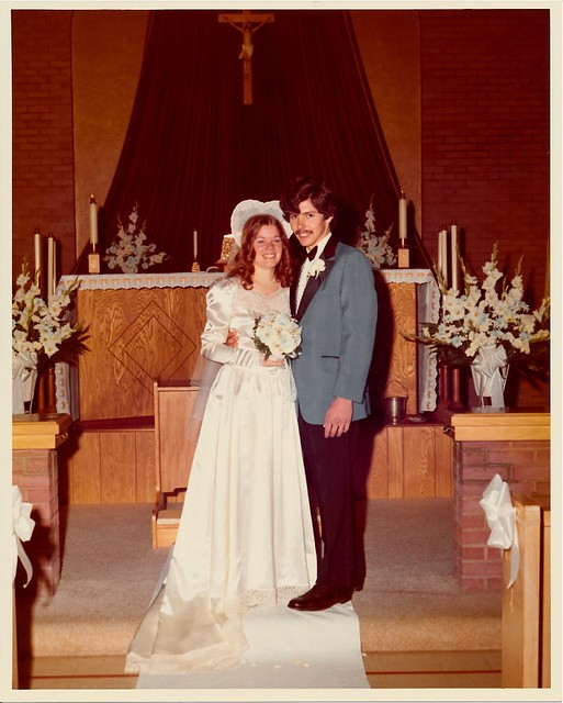 1973 Wedding Richard and Carol 06
