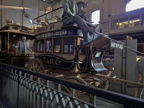 1898 Horse drawn omnibus Sydney Tramway & Omnibus Company