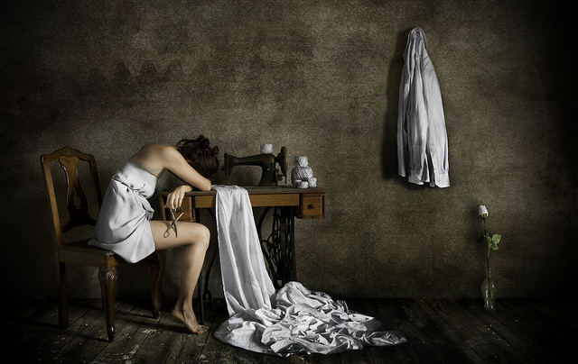 Creative portrait photography by Alisa Andrei