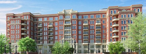 Rendering, David Schwartz Associates, new Wardman Park apartment building, Woodley Park, Washington, DC