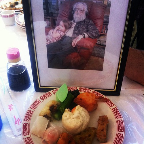 Memorial dim sum for Grampa Charlie