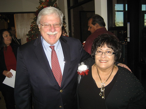 Arizona State Director Alan Stephens and PHC Board Treasurer Mary Lou Rosales at the ribbon cutting.